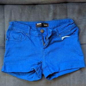 BDG Royal Blue Shorties